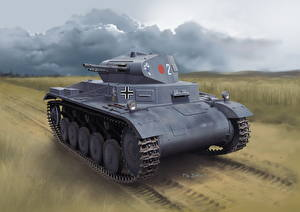 Image Tank Painting Art German Pz.Kpfw.II Ausf.A