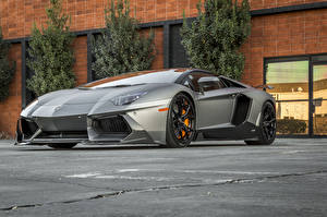 Hintergrundbilder Lamborghini Tuning Luxus Roadster 2014-16 Vorsteiner Lamborghini Aventador-V Roadster Zaragoza