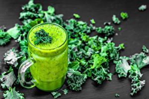 Wallpapers Juice Mug Foliage Green Food