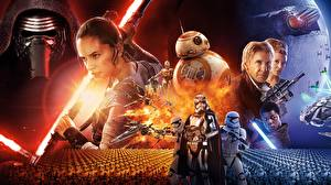 Pictures Star Wars - Movies Star Wars: The Force Awakens Warriors Men Clone trooper Movies Fantasy Girls
