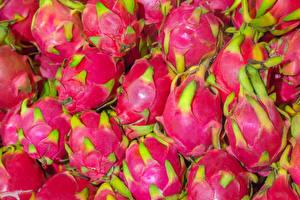 Image Fruit Closeup Dragon fruit Pink color