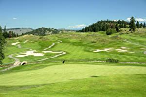 Bilder Felder Golf Natur