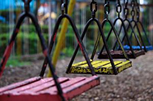Picture Closeup Swing Chain