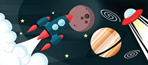Fotos Planeten Rakete Vektorgrafik Kosmos