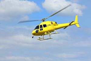 Bilder Hubschrauber Gelb