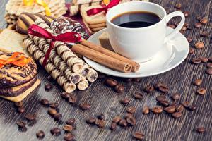 Fotos Kaffee Zimt Backware Tasse Getreide Untertasse Lebensmittel