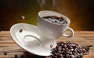 Fotos Kaffee Untertasse Tasse Getreide Lebensmittel