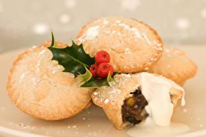Bilder Neujahr Backware Beere Muffin