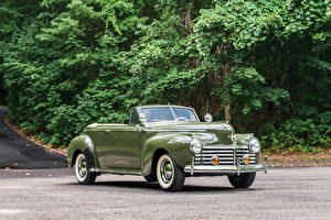Images Retro Chrysler Convertible Metallic Green 1941 New Yorker Convertible Coupe Cars