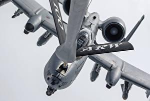 Fotos A-10 Thunderbolt II Flugzeuge Schlachtflugzeug