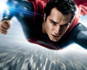 Bakgrunnsbilder Supermann helten Menn Henry Cavill Flyging Vakre Man of Steel Film