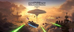 Image Star Wars Battlefront 2015 Technics Fantasy Ship Clouds Games Fantasy