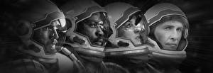 Picture Astronaut Matthew McConaughey Anne Hathaway Interstellar (film) Helmet Christopher Nolan film Fantasy Celebrities Girls