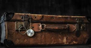 Bilder Uhr Taschenuhr Koffer