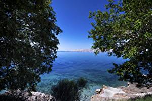 Wallpapers Croatia Lake Coast Nature