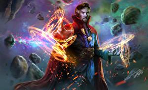 Fotos Magie Magier Hexer Mann Doctor Strange 2016 Benedict Cumberbatch Film Fantasy Prominente