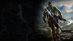 Pictures Sniper Men Sniper rifle Soldiers Snipers Ghost Warrior 3 Games