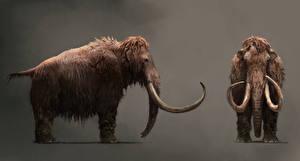 Fotos Far Cry Alte Tiere Mammute Far Cry Primal Spiele