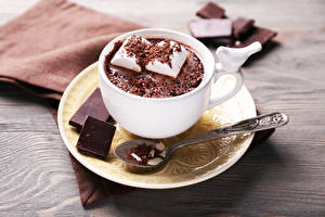 Pictures Cocoa Chocolate Cup Marshmallow Saucer