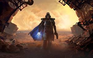 Photo Warriors Pistol Sorcery Cloak The Technomancer Games Fantasy