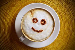 Fonds d'écran Café Smilies Cappuccino Tasse aliments