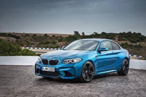 Image BMW Light Blue F87 Cars