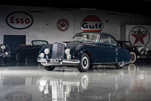 Pictures Bentley Retro Blue Metallic 1953-55 R-Type Continental Sports Saloon by Mulliner AT LHD Cars