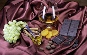 Image Chocolate Grapes Whiskey Cinnamon Shot glass Stemware