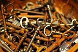 Bilder Nahaufnahme Viel Schlüssel
