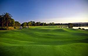 Fotos Golf Rasen Natur