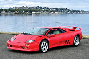 Bilder Lamborghini Rot 1998-200 Diablo VT