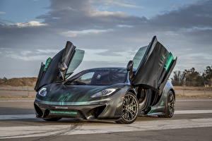 Hintergrundbilder McLaren Tuning Grau Offene Tür 2013-16 Vorsteiner MP4-VX Autos