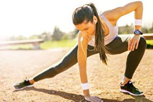 Hintergrundbilder Fitness Gymnastik Dehnübungen