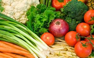 Fotos Zwiebel Tomate Gemüse Das Essen