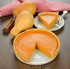 Fondos de escritorio Pastelón Calabaza Pastel de queso
