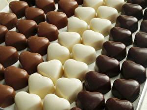 Bilder Süßigkeiten Bonbon Schokolade Viel Herz Lebensmittel