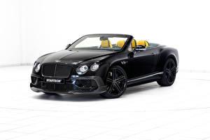 Bilder Bentley Schwarz Cabriolet Startech Continental Autos