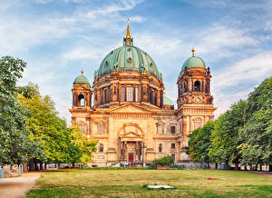 photos germany berlin cathedral temples cities. Black Bedroom Furniture Sets. Home Design Ideas