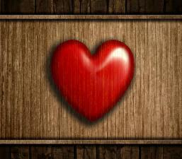Bilder Valentinstag Hautnah Bretter Herz Rot