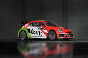 Wallpapers Volkswagen Tuning 2015-17 Beetle GRC auto