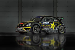 Bilder Volkswagen Fahrzeugtuning Schwarz 2015-17 Beetle GRC Autos