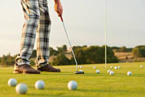 Bilder Golf Felder Ball Bein Rasen sportliches