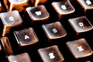 Fotos Tastatur Makro Großansicht Retro