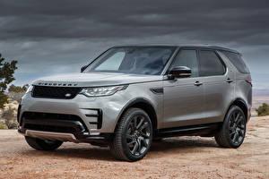Fotos Land Rover Graue Metallisch 2017 Discovery HSE Si6 Dynamic Design Pack Autos