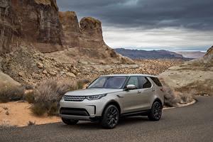 Fotos Land Rover Graue Metallisch 2017 Discovery HSE Worldwide Autos
