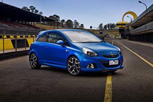 Fotos Opel Blau Corsa OPC 2013