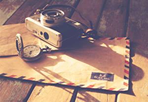 Hintergrundbilder Retro Taschenuhr Brief Fotoapparat