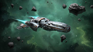 Wallpapers Star Citizen Ships Starship vdeo game Space