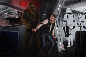 Images Star Wars - Movies Men Warriors Assault rifle film Fantasy