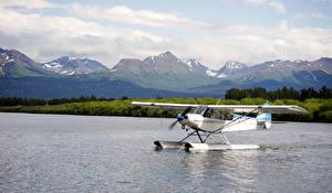Hintergrundbilder Flugzeuge See Wasserflugzeug
